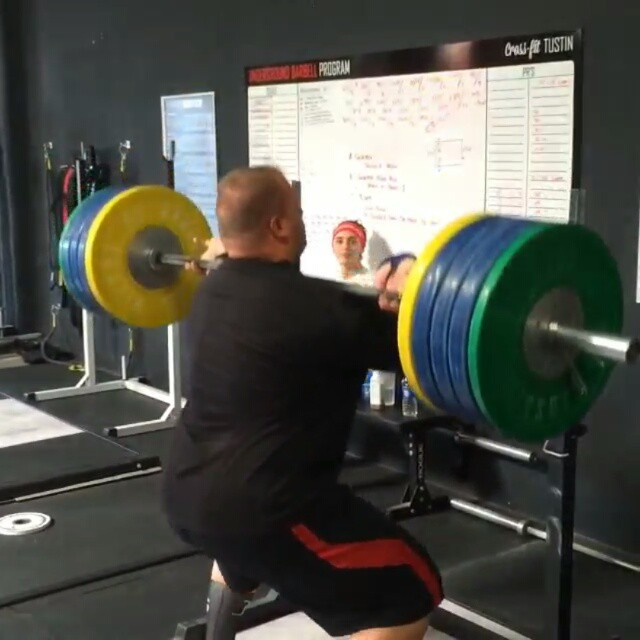 Repost from @lowerweightlifting first time FSQ and crushing 190kg?! Could be a great 105+