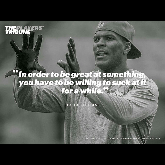 This great write up by Julius (on the @playerstribune go follow them amazing stuff) hits the nail ride on the head??? FAR too many athletes glorify the success of others but few acknowledge or accept the work ethic it takes to get there.  Throughout my 12+ years coaching exceptional athletes, there are has been 3 characteristics that I've found each of these athlete to have: Copy and paste link: http://www.fusiontrained.com/just-easy-julius-thomas/